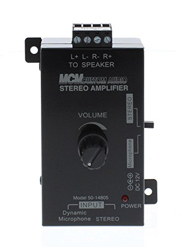 STEREO AMPLIFIER 30W 12VDC WALL product image