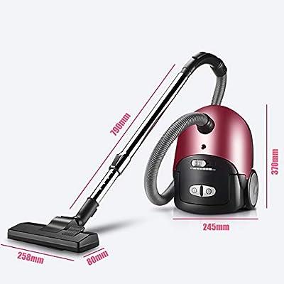 OR&DK Aspirador sin Bolsa Cilindro, Silencio eléctrico de Gran ...