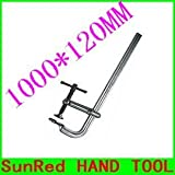 Ochoos taiwan made excellent quality tool steel forged 1000120mm F Woodworking clamp holder with super strong,NO.10715