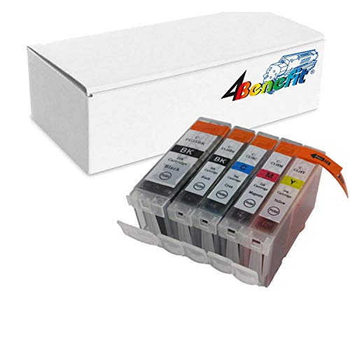 Cli 8bk Chip - 5 Packs PGI-5BK CLI-8 compatible Ink Cartriges with CHIPs