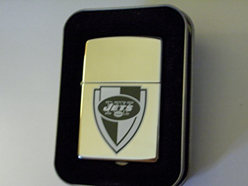 Zippo NFL New York Jets High Polish Chrome 2005 Football Lighter