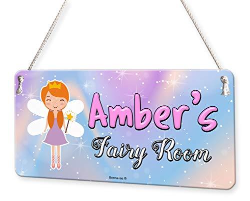 alised Childs Bedroom Door Sign Name Plaque ()
