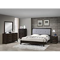 Best Quality Furniture B1400EK-BED Bed, Eastern King