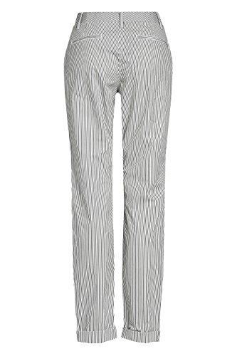 next Mujer Pantalones Chinos Petite A Rayas