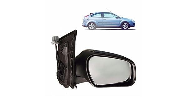Viviance Puerta Espejo De ala De Vidrio 04-08 Eléctrico Calentado con Imprimado Lado RH para Ford Focus Mk2: Amazon.es: Coche y moto
