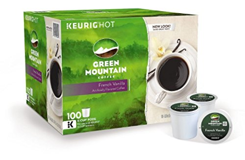 Green Mountain Coffee, French Vanilla (100 K-Cups) by Green Mountain Coffee