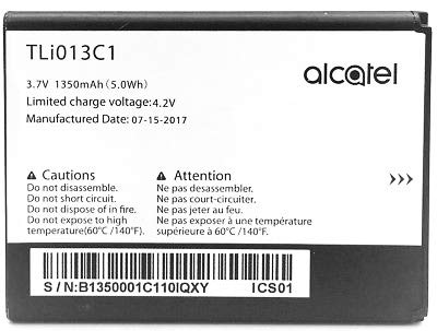 Genuine Alcatel One Touch Go Flip TLi013C1 1350mAh Battery