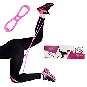 Booty Band Belt for Butt Workout - Brazilian Butt Lift Exercise Equipment for Women, Legs Resistance, and Thigh Toner - Mejores Ligas para Ejercicios