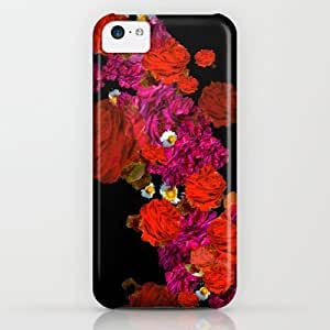 Roses Case For Iphone 5C Cover By Marcella Wylie