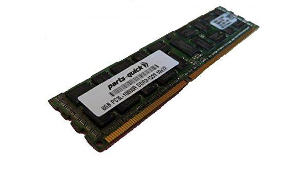 128GB 16x8GB DDR3 PC3L-10600R ECC Server Memory RAM for IBM X3500 M3 Type 7380