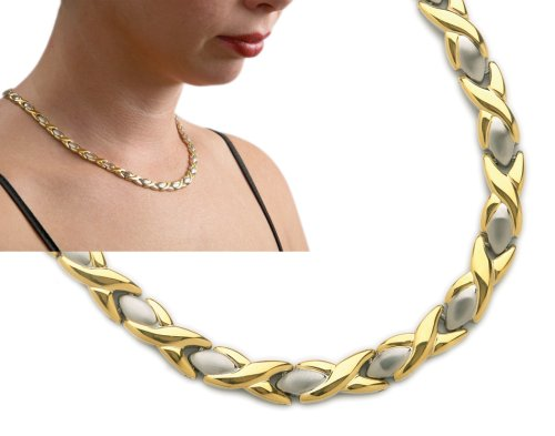 - Aphrodite Magnetic Necklace 2-Tone