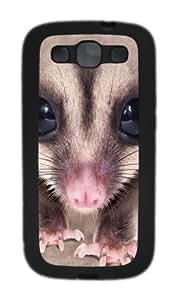 Samsung Galaxy I9300 Case and Cover -Big Face Sugar Glider Custom pc hard hard Case Cover Protector for Samsung Galaxy S3/I9300 Black