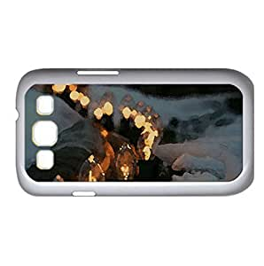 Outdoor Lighting, Winter Watercolor style Cover Samsung Galaxy S3 I9300 Case (Winter Watercolor style Cover Samsung Galaxy S3 I9300 Case)