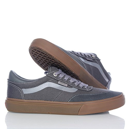 gum Crockett Black Gunmetal Vans Pro' White Gilbert 2 vc0P4