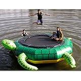 Island Hopper 15' Turtle Jump Water Trampoline