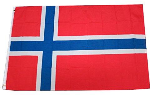TrendyLuz Flags Norway Norwegian National Country Flag 3x5 F