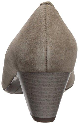 Suede M Taupe Women's Pump US B Kelly 5 Black ara Leather v46qq