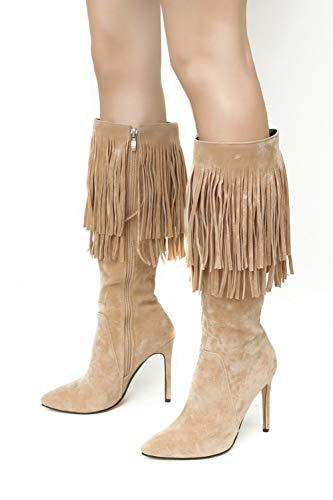 Elegante Elegante Elegante Donna Shoe Scarpe Moda Moda Moda MissSaSa Albicocche C0OwxwH