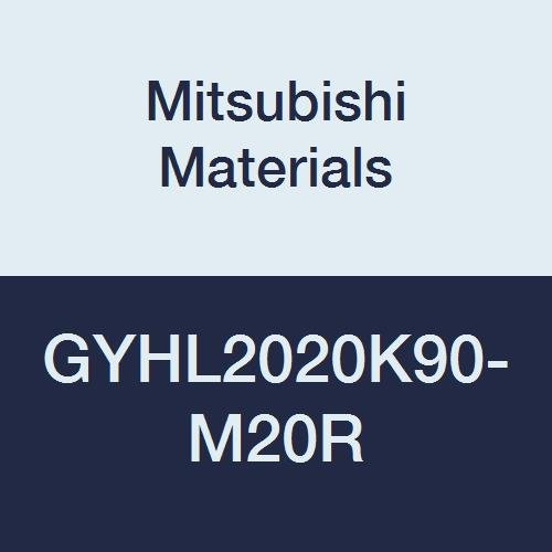 Mitsubishi Materials GYHL2020K90-M20R GY Modular Type External Grooving Holder with Right M20 Modular Blade 20 mm Height Left Hand 6 mm Grooving Depth 125 mm Length 90/° Angle 20 mm Width