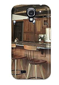 Minnie R. Brungardt's Shop New Style Tpu Case For Galaxy S4 With Cathedral Kitchen Bar With Wood Cabinets And Rustic Support Beams