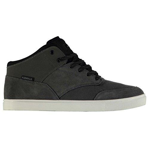 Airwalk breaker Mid top skate scarpe da uomo antracite/BLK ginnastica calzature