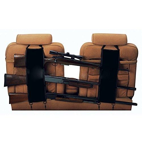 autvivid Car autvivid Car Seat Back Gun Sling Organizer for Rifle Hunting Black