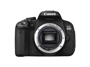 Canon EOS 650D - Cámara réflex Digital de 18 MP (Pantalla de 3 ...