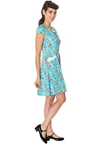 5262 Dancing by DRESS HERITAGE Aqua Banned aqua Days Kleid ggrzw