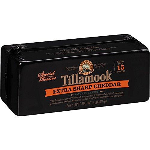 (Tillamook Vintage Extra-Sharp Cheddar Cheese 2lb.)