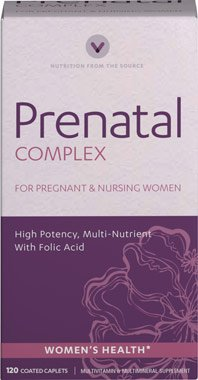 Vitamin World Prenatal Multivitamin Complex, 120 Coated Caplets