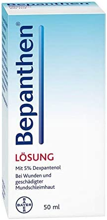 Bepanthen Liquid Solution Bepantol Liquido 50ml