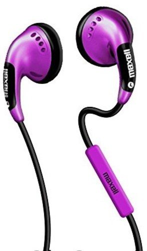 Maxell 199715 Color Buds W/Mic - Pink