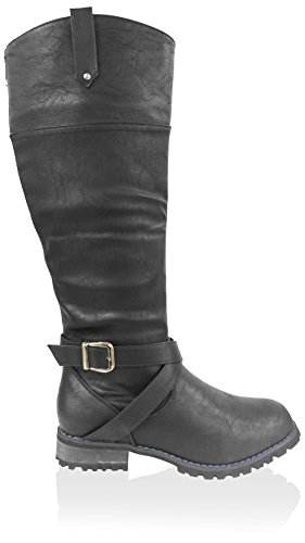 Jacobies Womens Riding Boot Black Ukt9VRA