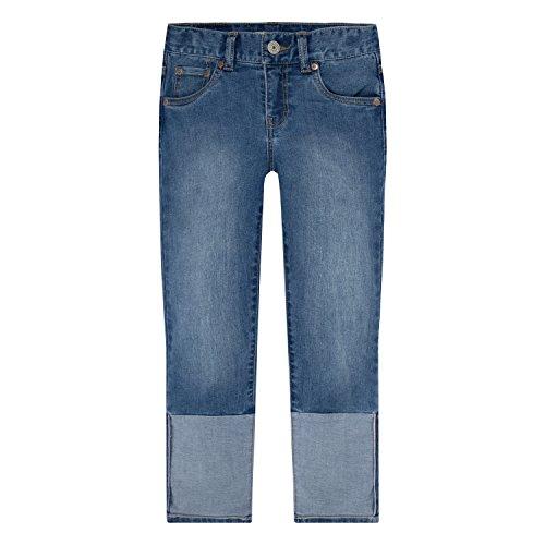 Levi's Big Girls' Cropped Girlfriend Jeans, Nirvana, 12
