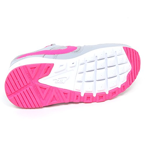 Nike Mädchen Air Max Command Flex (Ps) Laufschuhe grigio/rosa fluo