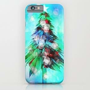 Society6 - Abstract Christmas Tree iPhone 6 Case by Klara Acel