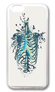 Apple Iphone 6 Case,WENJORS Adorable Keep Going Soft Case Protective Shell Cell Phone Cover For Apple Iphone 6 (4.7 Inch) - Hard Transparent