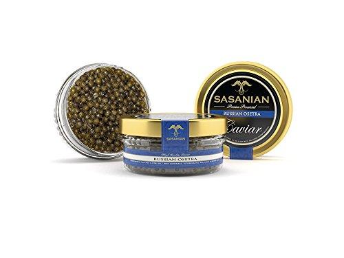 GUARANTEED OVERNIGHT! Frensh Russian Osetra Farmed Sturgeon Caviar - 1 (Caspian Osetra Caviar)