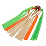 """5Pcs Elastic Powerful Rubber Band For Slingshot Catapult Outdoor Hunting 0.8mm/0.03""""."""