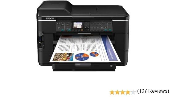 Epson Workforce WF-7525 - Impresora multifunción (Inyección de Tinta, 200 x 200 dpi, 1200 x 1200 dpi, A3, A3 (297 x 420), Color): Amazon.es: Informática