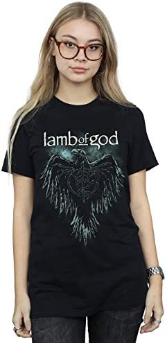 Lamb of God Crow M XL L 2XL Black T-Shirt