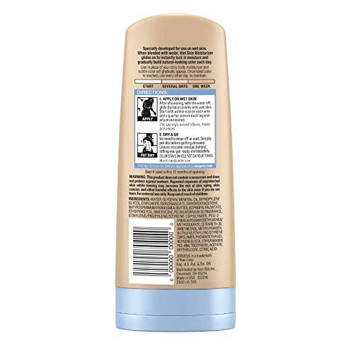 Jergens Natural Glow In-shower Moisturizer, Self Tanner, Fair to Medium Skin Tone Sunless Tanning, 7.5 Ounce Wet Skin… 2