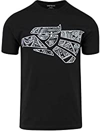 Original Hecho en Mexico Aztec Calendar Eagle Shirt Mexican Eagle Tee