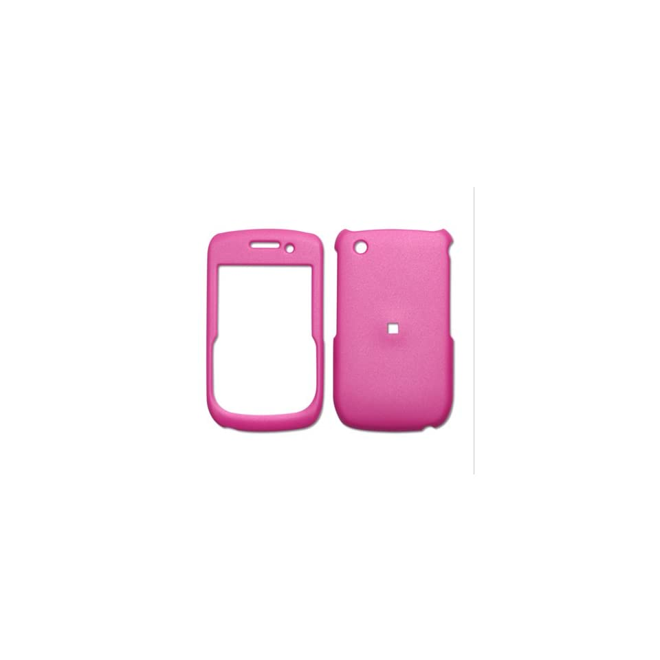 Fashionable Perfect Fit Hard Protector Skin Cover Cell Phone Case for BlackBerry Curve 8530 AT&T,Sprint,U.S. Cellular,Verizon   Hot Pink