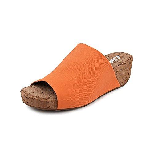 DKNY Women's Alma Sandals in Orange Size 7