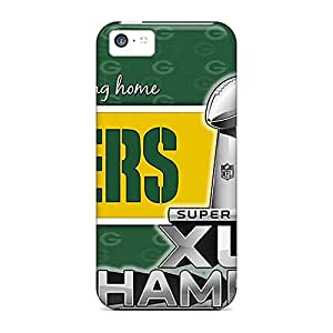 BRAOE Iphone 5c Shock-Absorbing Hard Cell-phone Case Provide Private Custom Fashion Green Bay Packers