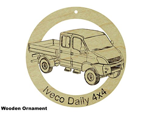 iveco-daily-4x4-coupe-laser-engraved-sanded-finish-natural-maple-hardwood-ornament