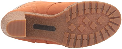 Timberland Womens Ek Glancy 6 Pollici Boot Burned Orange Nubuck