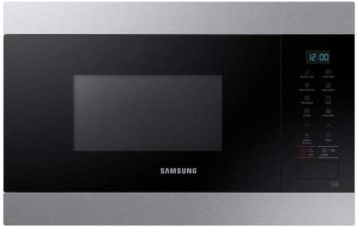 Samsung MG22M8074AT - Microondas integrables (acero inoxidable, 22 L, 850 W)