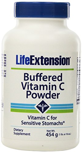 Life Extension Buffered Vitamin C Powder, 454 - Complex C Vitamin Buffered